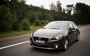 Картинка скорость, Mazda, grey, мазда, матрёшка