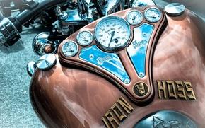 Картинка макро, мотоцикл, фон