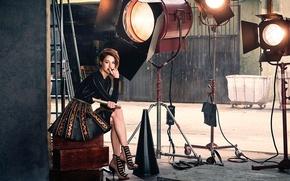 Картинка фотосессия, Shailene Woodley, Modern Luxury