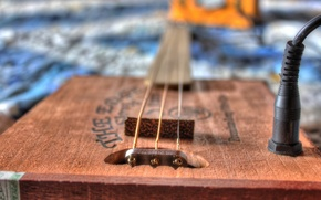 Картинка Bokeh, Cigar Box Guitar, музыка