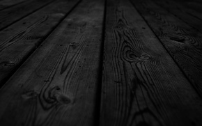 Обои patterns, креатив, дерево, доски, wood texture, чёрный, black, текстуры