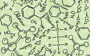 Обои Химия, Формулы, Наука