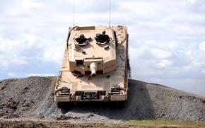 Обои гора, Индия, танк
