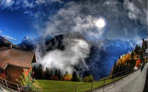 Обои горы, пейзаж, природа