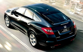 Картинка движение, скорость, Honda, Crosstour