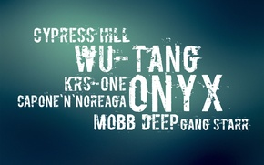 Обои onyx, wu-tang, krs-one, rap, hip-hop
