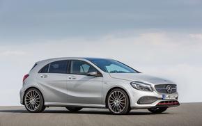 Обои мерседес, 4MATIC, 2015, A 45, W176, Mercedes-AMG