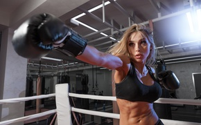 Картинка punch, boxing, workout