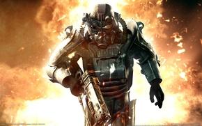 Картинка взрыв, оружие, хит, Fallout 3