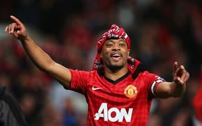 Картинка Manchester United, old trafford, evra, red devil, champ20ns