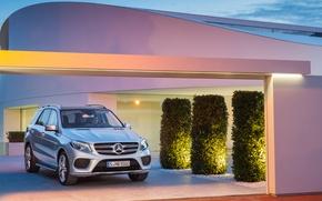 Картинка Mercedes, AMG, 4MATIC, 2015, AMG-Line, 63S, GLE-500