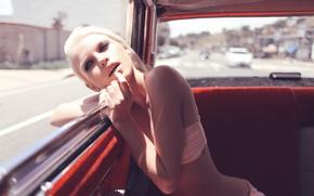 Картинка машина, блондинка, анна, swim, wildfox, couture, константинова