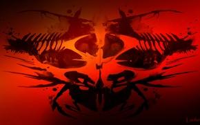 Картинка логотип, Hitman, Символ, Тест Роршаха, Арханикум, Arhxaos