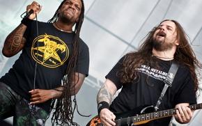 Картинка группа, метал, рок, хардкор, трэш-метал, грув-метал, Андреас Киссер, дет-метал, groove -metal, Sepultura, Деррик Грин