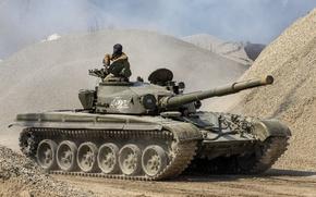 Обои основной, СССР, T-72M, боевой танк