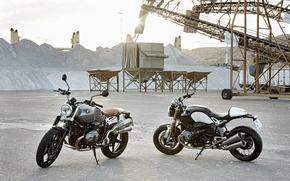 Картинка BMW, moto, classic, Scrambler, NineT, motorrad