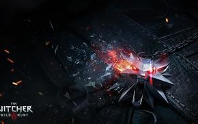 Обои mosaic, CD Projekt RED, The Witcher 3: Wild Hunt, ведьмак
