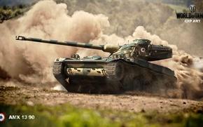 Картинка скорость, барабан, мир танков, amx 13 90, world of Tanks, франция. танки
