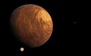 Картинка космос, поверхность, планета