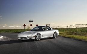Картинка Mazda, 360, road, Forged, RX-7
