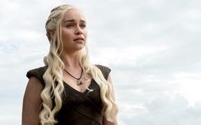 Картинка Game of Thrones, Игра престолов, Emilia Clarke, Эмилия Кларк, HBO, 2016, Season 6