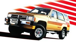 Картинка Toyota, Hilux, тойота, 1986, хеликс