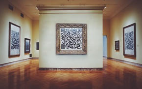 Картинка картина, музей, мона лиза, джоконда