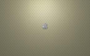 Обои Apple, кожа, кремовый