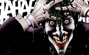 Картинка Джокер, Joker, DC comics, Убийственная Шутка, Batman: The Killing Joke