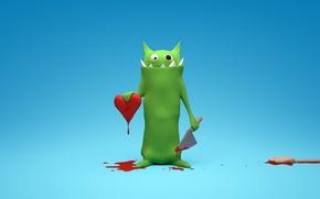 Обои Любовь, сердце