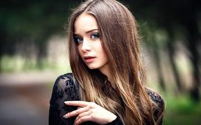 Картинка портрет, макияж, Анастасия, Настя, Denis Petrov