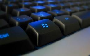 Обои Клавиатура, кнопка