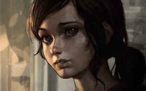 Картинка Элли, Арт, Game, The Last of Us, Naughty Dog, Ellie, Sony Computer Entertainment, Одни из …