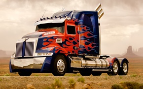 Картинка Optimus Prime, Оптимус Прайм, Western Star, 4900