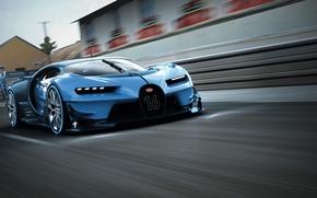 Картинка Bugatti, Vision, бугатти, гран туризмо, Gran Turismo, 2015