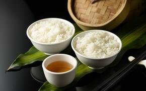 Картинка чай, рис, имбирь