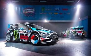 Картинка Ford, Racing, Rally, Block, Кен, Fiesta, Блок, Ken, Division, Gymkhana, 2014, Hoonigan