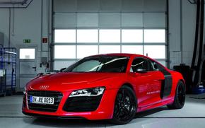 Картинка Audi, Колеса, Гараж, Диски, E-Tron