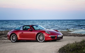 Картинка 911, Porsche, порше, 991, 2014, Targa 4