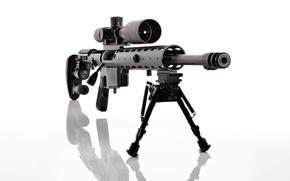 Картинка оружие, фон, оптика, винтовка, снайперская