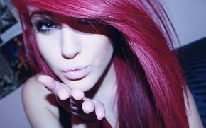 Картинка девушка, милая, рыжая, рыжеволосая, сучка, няшка