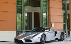 Картинка Ferrari, supercar, Enzo, street