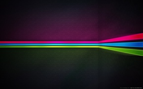 Обои цвет, угол, полосы