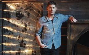 Картинка актер, Supernatural, Jensen Ackles, Сверхъестественное, Dean Winchester, Дженсен Эклс, промо
