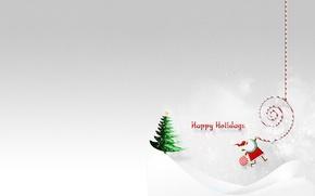 Картинка праздник, елка, Новый год