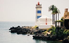 Картинка sea, ocean, lighthouse