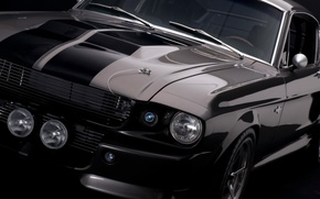 Обои gt500, shelby, ford mustang, 1967