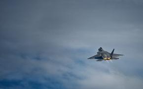 Обои F-22 Raptor, малозаметный, истребитель, многоцелевой