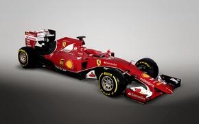 Обои феррари, Ferrari, формула 1, 2015, SF15-T