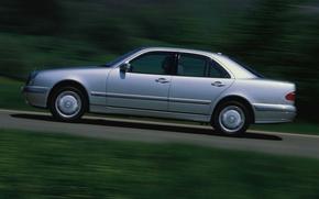Картинка E-class, Mercedes-Benz, 1999, E-Klasse, E-класс, W210, Executivklasse, Лупатый, Глазастый, Mercedes